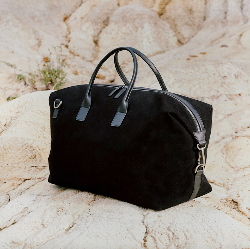 """<h2>July Daybreak Weekender </h2><br>July is best known for its sleek and lightweight rolling luggage, but we can't forget about the brand's impressive collection of travel bags. The classic Daybreak Weekender is perfect for anyone looking to travel in style (hello, fancy leather handles).<br><br><em>Shop <strong><a href=""""https://july.com/us/travel-bags/daybreak-weekender"""" rel=""""nofollow noopener"""" target=""""_blank"""" data-ylk=""""slk:July"""" class=""""link rapid-noclick-resp"""">July</a></strong></em><br><br><strong>July</strong> Daybreak Weekender, $, available at <a href=""""https://go.skimresources.com/?id=30283X879131&url=https%3A%2F%2Fjuly.com%2Fus%2Ftravel-bags%2Fdaybreak-weekender"""" rel=""""nofollow noopener"""" target=""""_blank"""" data-ylk=""""slk:July"""" class=""""link rapid-noclick-resp"""">July</a>"""