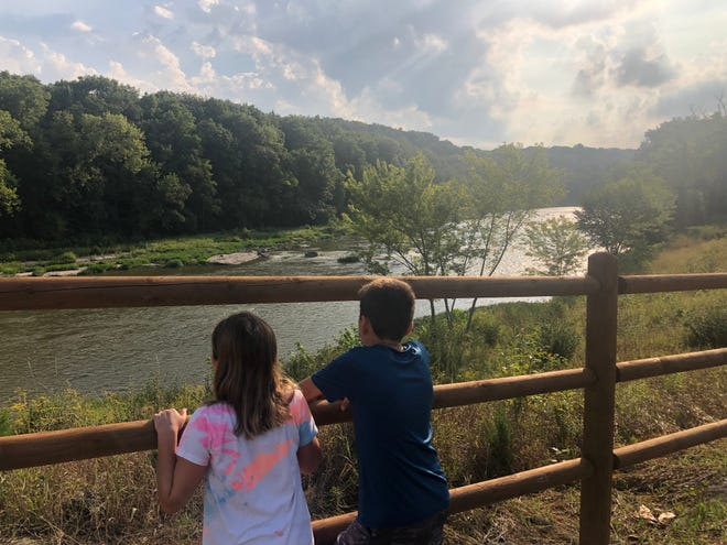 Starved Rock, located about two hours from Chicago, is Illinois' most popular state park.