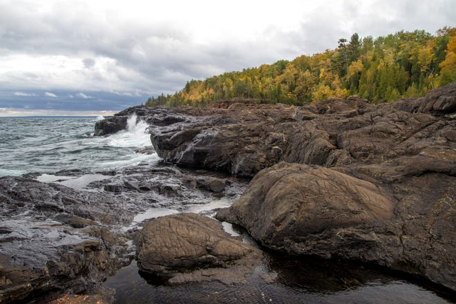 Presque Isle Park offers scenic splendor.