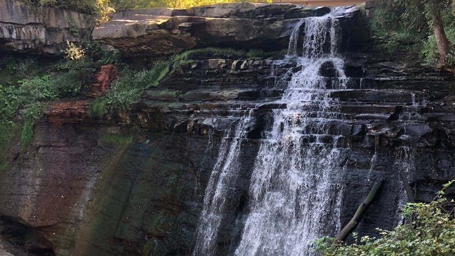 Brandywine Falls is one of the natural wonders at Cuyahoga Valley National Park.